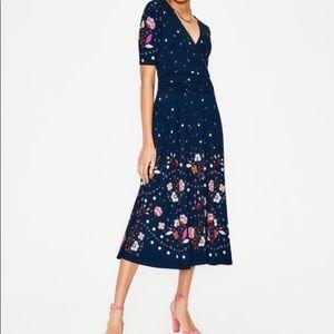 Boden Dresses - NWT Boden Kassidy Jersey Midi Dress, size US 8R